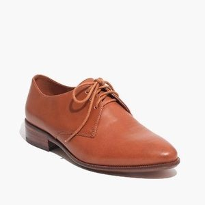 Madewell Classic Leather Oxford shoes in Saddle 🤓