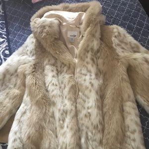 Fur coat ... middle length