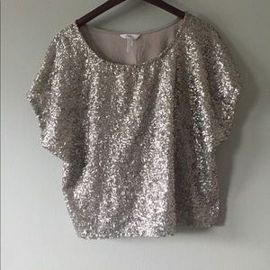 sparkly top size L