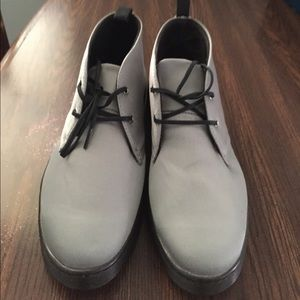 Silver Daytona Doc Martens UK 9