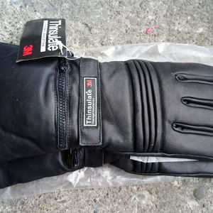 Other - Leather Snowboard Gloves