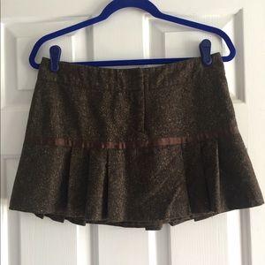 H&M Wool mini Skirt