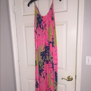 Lilly Pulitzer size s/m maxi dress