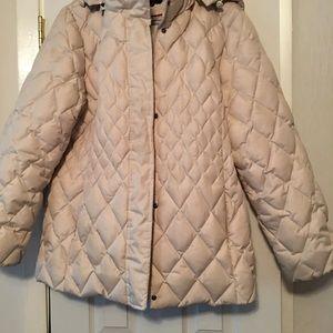 Winter jacket off white