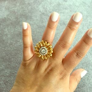Size 6 J.Crew cocktail ring