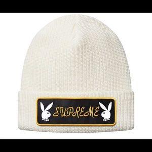 Supreme x Playboy Box Logo Beanie