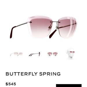 Chanel butterfly spring collection sunglasses