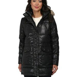EUC  Ralph Lauren puffer down coat small