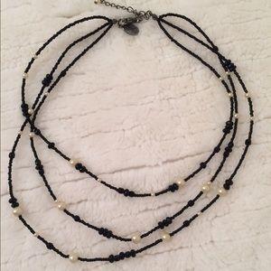 White House/Black Market layered necklace