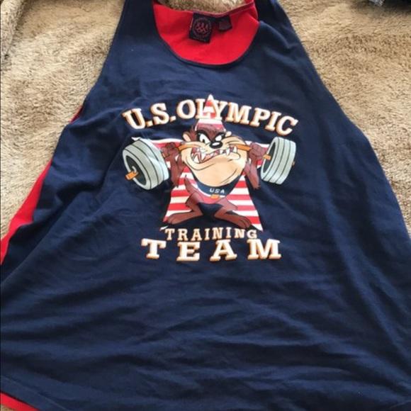 Vintage Looney Tunes Olympics tank. M 59c2ac42680278ac53018a1f e4f93a108