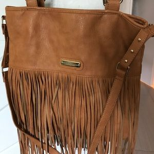 Handbags - Fringe Steve Madden Bag