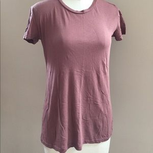 Stateside terra-cotta cotton short sleeve tee sz M