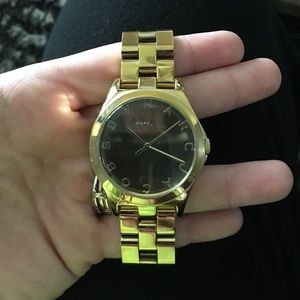 Marc Jacobs gold watch ⌚️💕