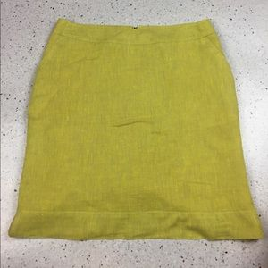 Merona Linen Blend Pencil Skirt w Pockets, size 6