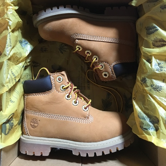 f953eb7ee664 Boys Timberland boots toddler size 7 NWT