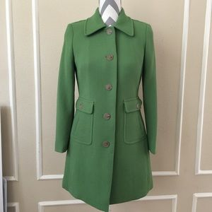 J. Crew Wool Lady Day Coat with Thinsulate