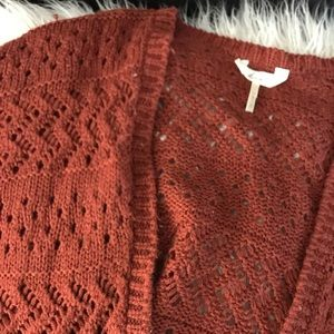 Kirra Rust Kimono Style Sweater