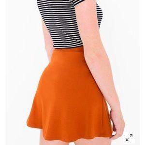 AA Orange Skirt