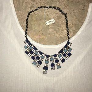 Park lane blue necklace. Never worn