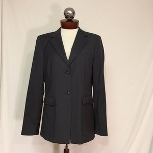 J CREW wool stretch 2 button blazer 10