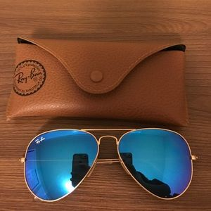 RAY-BAN Aviator with Mirrored Lenses 58 mm