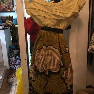 ANTHROPOLOGIE NWT strapless dress size 12