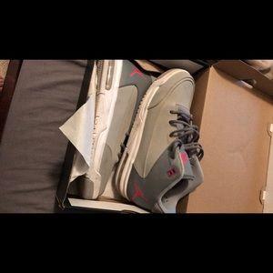 Jordan's youth size shoes