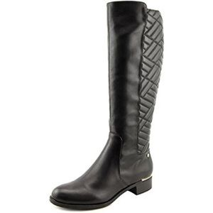Calvin Klein Garcella Black Knee High Boots 6.5