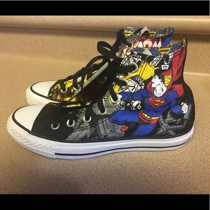 Converse Superman Chuck Taylor Men's 5 Women's 7