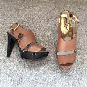 Michael Kors platform heel sandal size 7