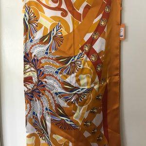 Wensli silk scarf