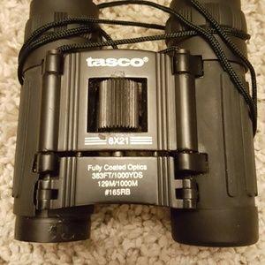 New tasco binoculars with case