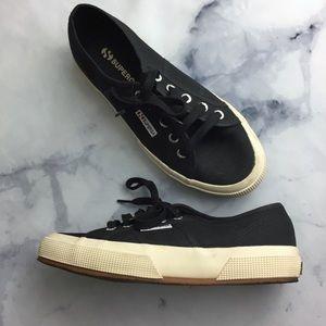 Superga Black Canvas 2750 COTU Classic Sneakers