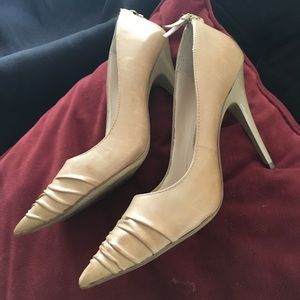 Beautiful cream colored high heels