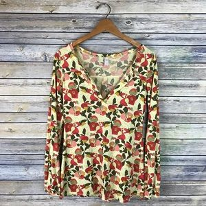 Lucy Yellow Floral Long Sleeve Shirt