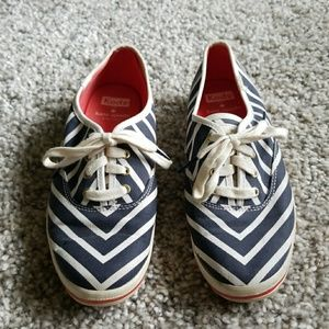 Kate Spade x Keds Stripe Casual Sneakers