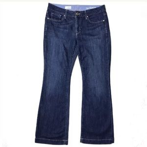 Gap 1969 Long & Lean Faded Bootcut Blue Wash Jeans