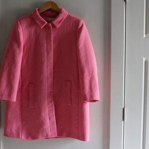 ZARA pinkcoat