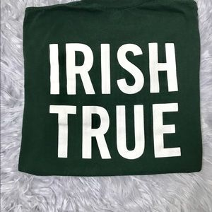 Tullamore Dew Irish Whiskey NWOT Dark Green Short Sleeve Shirt X-Large