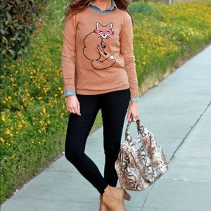 Fox Old Navy Sweater