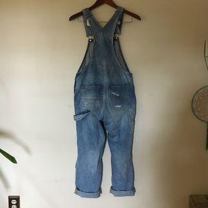 31fdfff62736 Urban Outfitters Jeans - BDG Ryder Boyfriend Overalls XS Vintage Slash