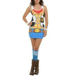 Disney woody plus size dress/costume