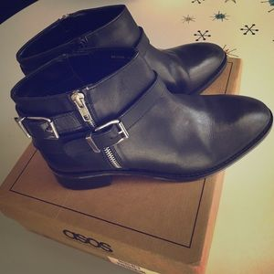 Asos Black Ankle boot size 9