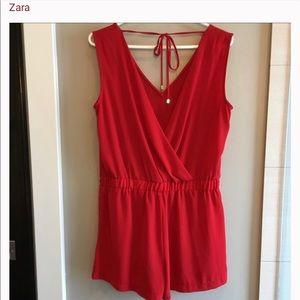 Zara short romper