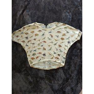 Bat wing dinosaur shirt!
