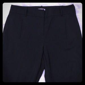 Loft curvy size 6 black pants