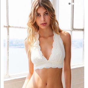 Urban Outfitters Lace Halter