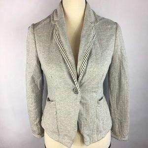 Anthropologie Cartonnier Women's Size4 grey blazer