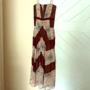 BCBG floor length dress