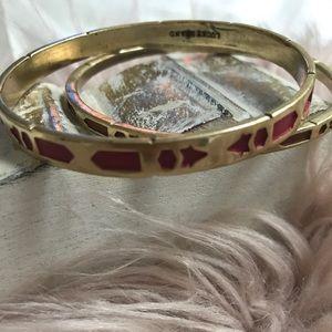 Lucky Brand Double Bangle Bracelet Set